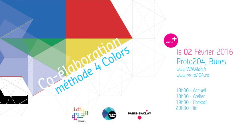 Atelier WAWlab Paris-Saclay – 4 colors(R) – Le 2 février2017